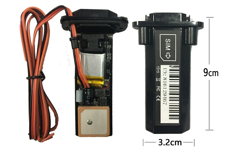 Setting up and registering the GPS tracker SinoTrack ST-901